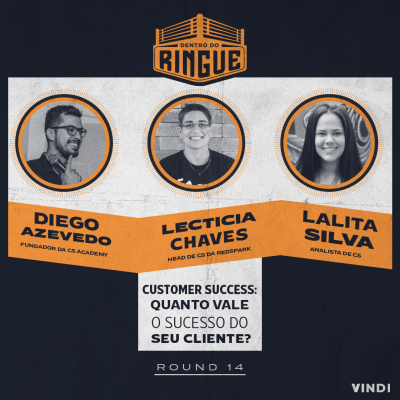 convidados do episódio de customer success